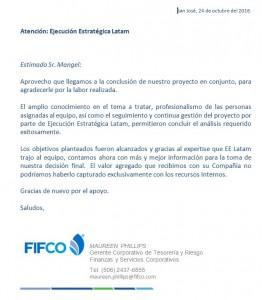 Recomendacion FIFCO